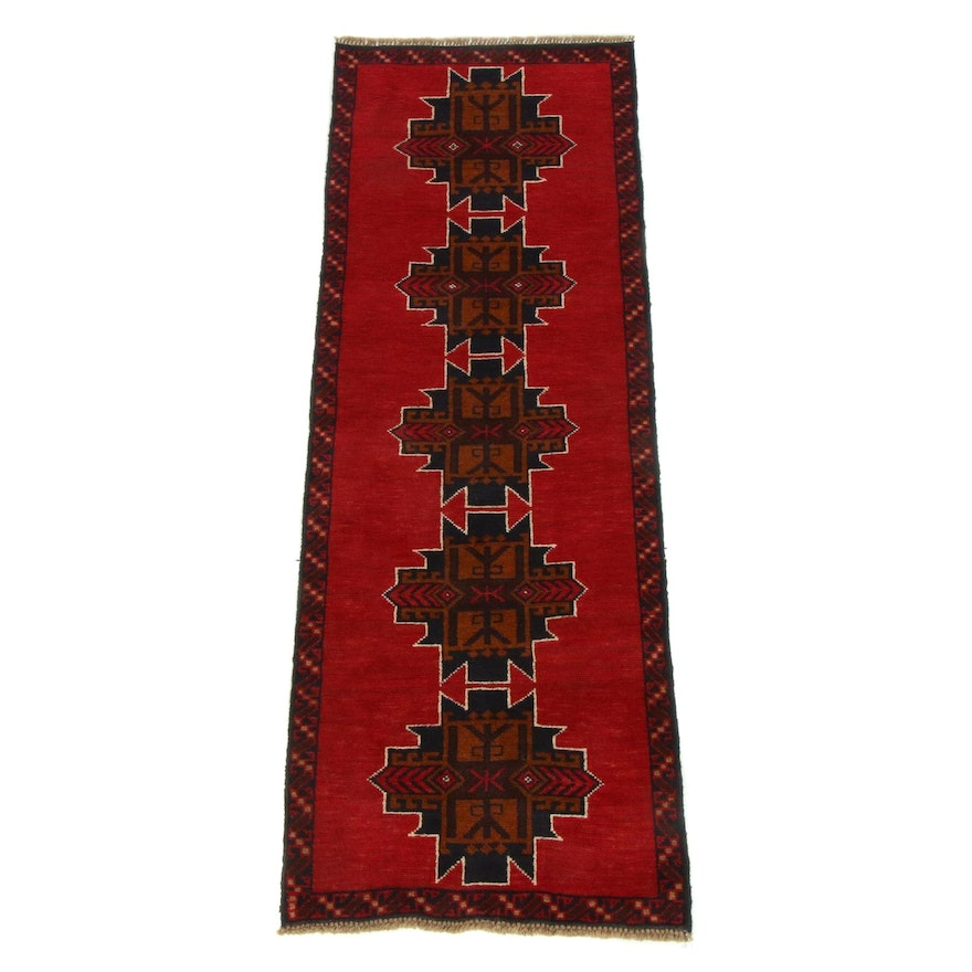 2'3 x 6'8 Hand-Knotted Afghani Baluch Runner