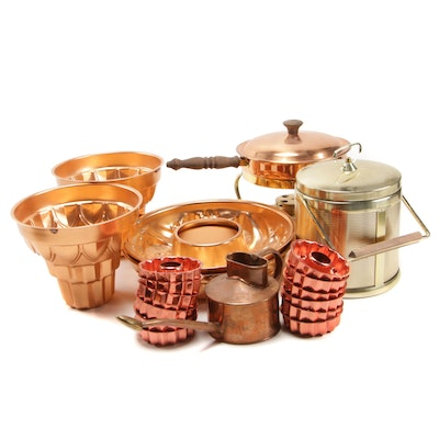 Lazar Ice Bucket with Individual Bundt Pans, Chafing Dish, and More
