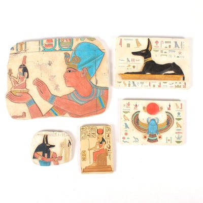 Egyptian Style Wall Tiles and Decor