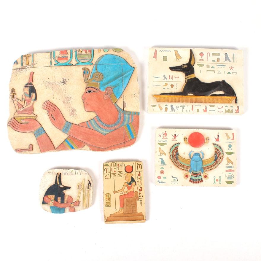 Egyptian Style Wall Tiles and Decor