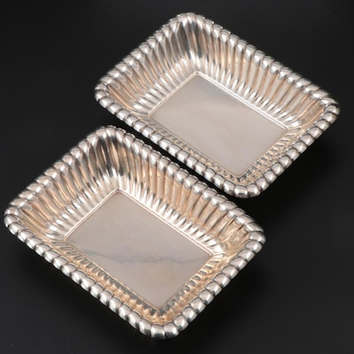 "Pair of Reed & Barton ""Trajan"" Sterling Silver Vegetable Bowls, 1950"