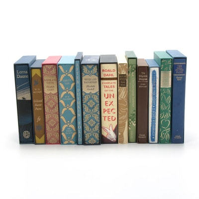The Folio Society Editions of Classic Literature Including W.M. Thackeray