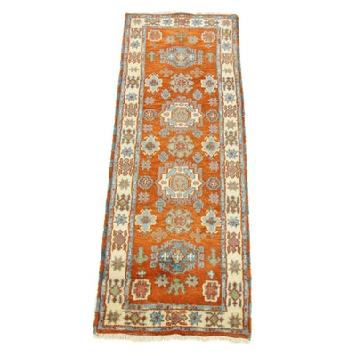 2'9 x 7'10 Hand-Knotted Indo-Persian Tabriz Runner