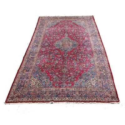 11'2 x 22'11 Hand-Knotted Persian Palace Sized Rug