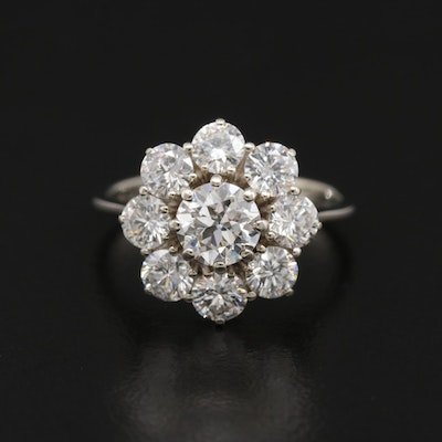 18K Gold 1.91 CTW Diamond Ring