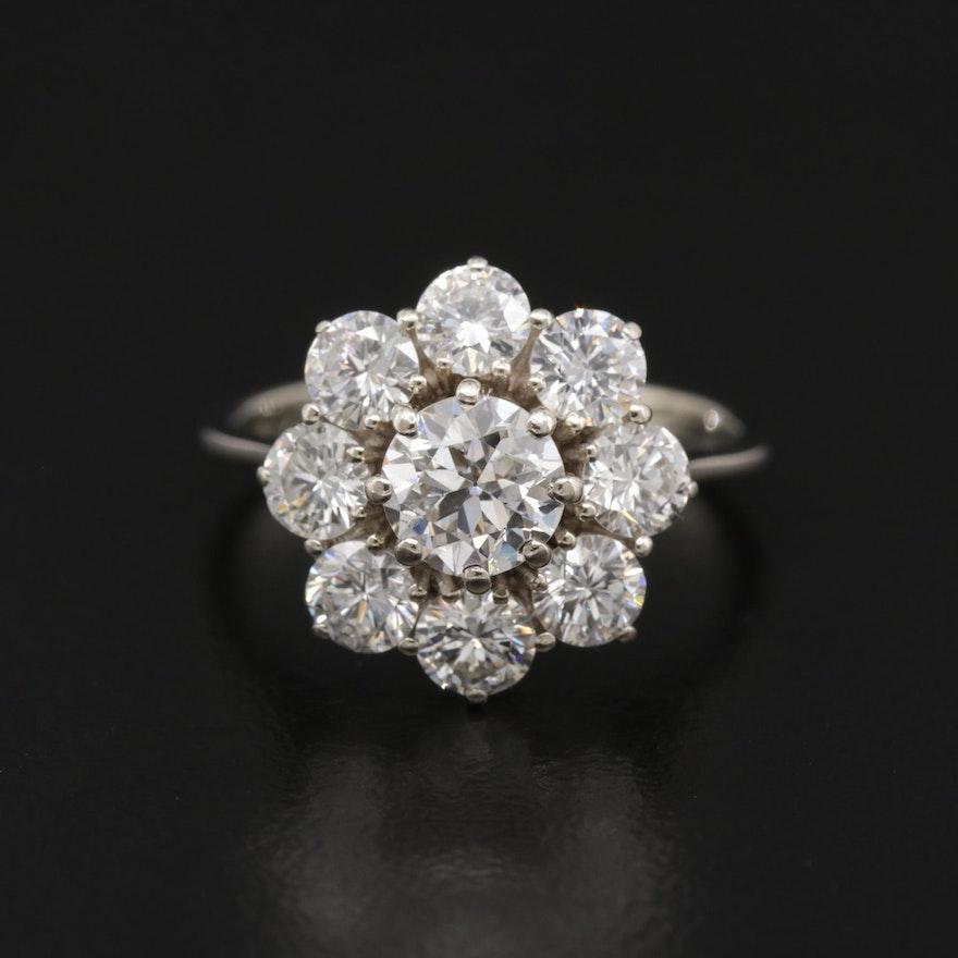 18K Gold 1.91 CTW Diamond Ring