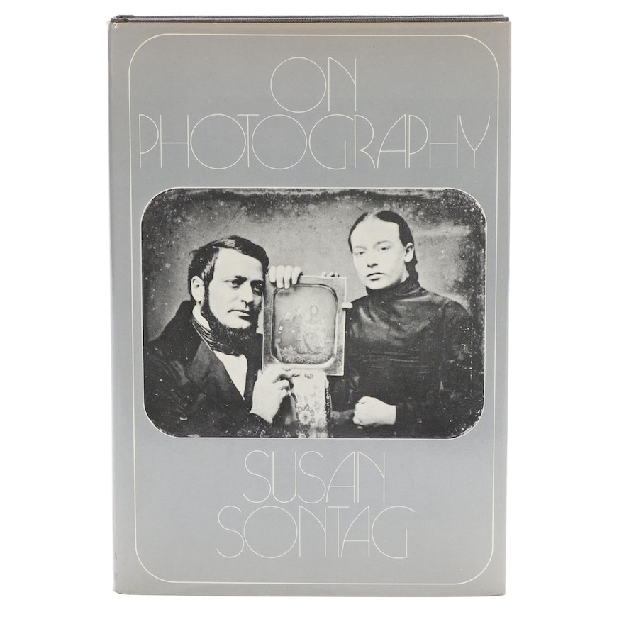 "1977 First Edition, First Printing ""On Photography"" by Susan Sontag"