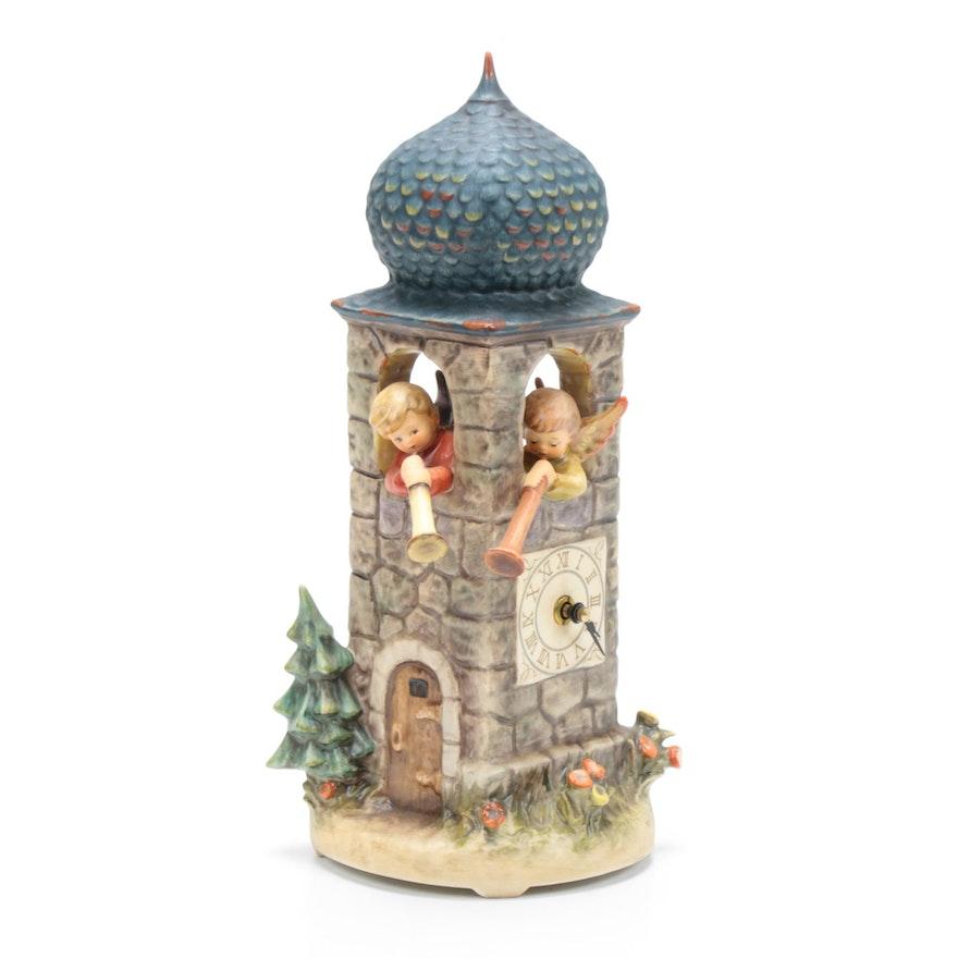 "Goebel M.I. Hummel ""Call to Worship"" 1988 Century Collection Musical Clock"