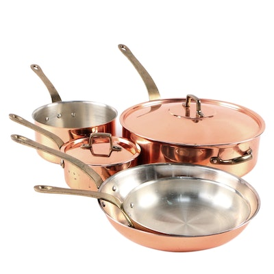 O.D.I. Copper and Stainless Steel Cooking Pots and Pans