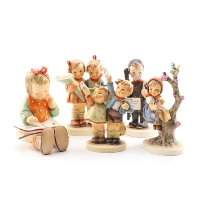 "Goebel Porcelain Hummel Figurines Including Limited Edition ""Chimney Sweep"""
