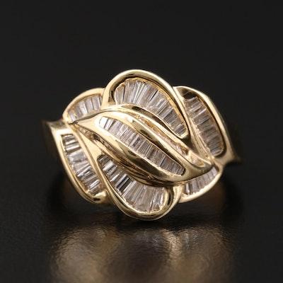 14K Gold 1.00 CTW Diamond Ring