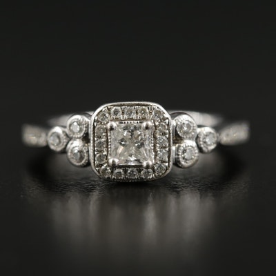 Gabriel & Co. 14K White Gold 0.50 CTW Diamond Ring