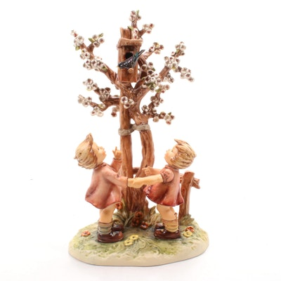 "Goebel ""Welcome Spring"" Century Collection Hummel Figurine"