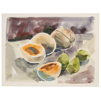 Jack Meanwell Still Life Watercolor Painting