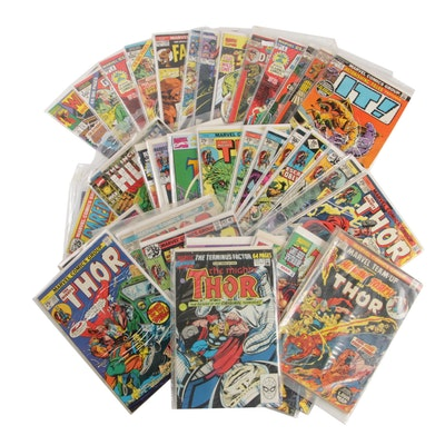 "Comic Books, ""Thor"", ""Avengers"", ""IT!"", ""Fantastic Four"" and More!"