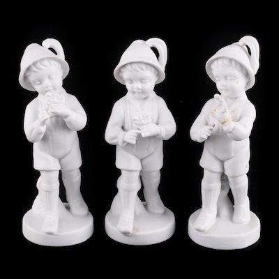 Gerold Porzellan White Porcelain Figurines, 1937–1949