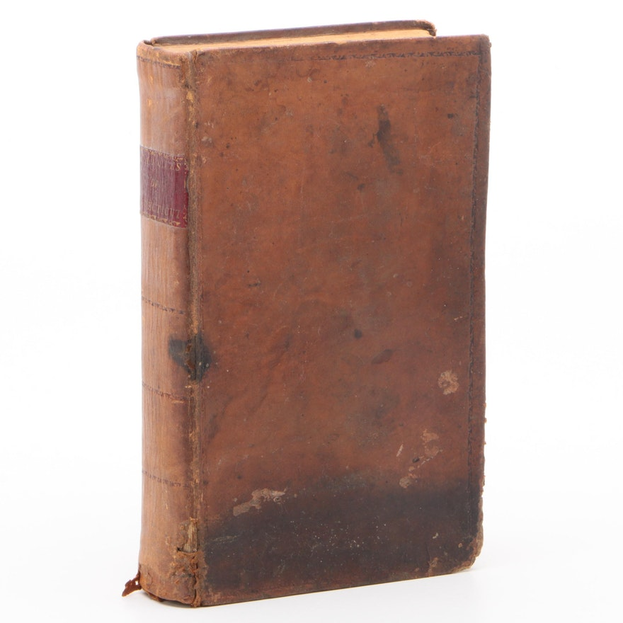 """1796 """"Acts and Laws of the State of Connecticut in America"""", Leather Bound"""