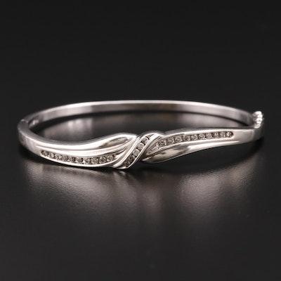 Sterling Silver 0.45 CTW Diamond Bracelet