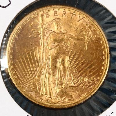 1909-S $20 Saint-Gaudens Double Golden Eagle