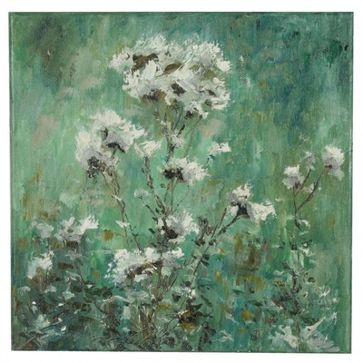 """Garncarek Aleksander Oil Painting """"Osty"""""""