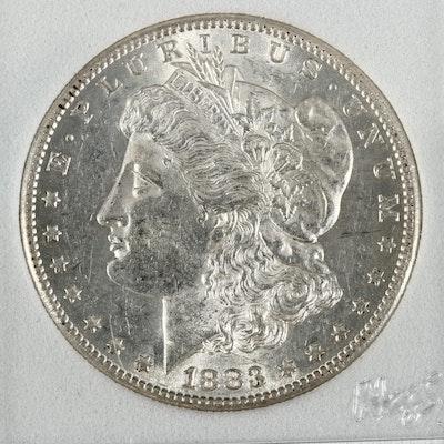 Better Date1883-S Morgan Silver Dollar