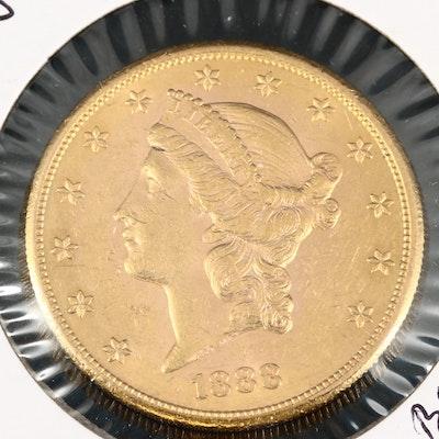 1888-S Liberty Head Gold Double Eagle