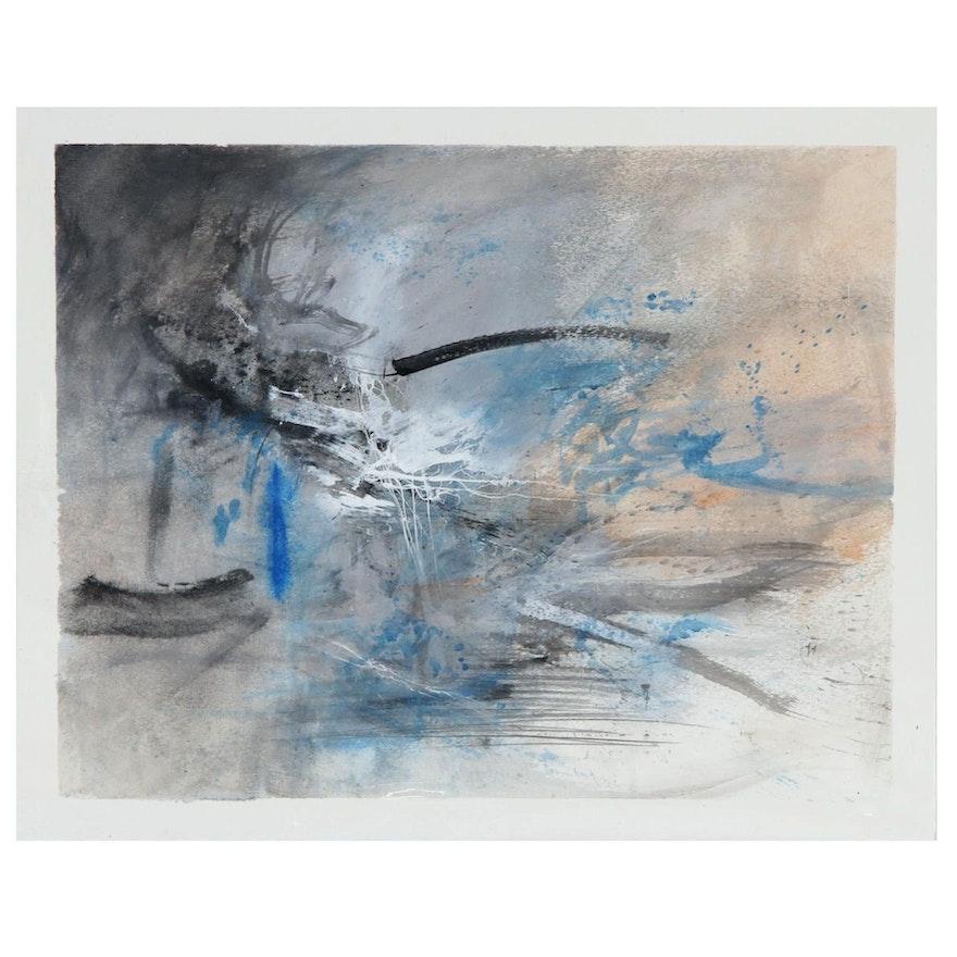 "David Senecal Acrylic Painting ""Volition"""