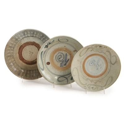 Thai Sawankhalok Style Ceramic Bowls