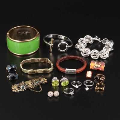 Collection of Jewelry Featuring Kate Spade, J. Crew and Swarovski