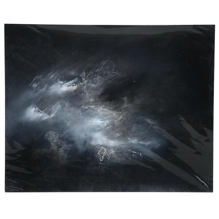 """David Senecal Acrylic Painting """"083017 (Trinity)"""""""