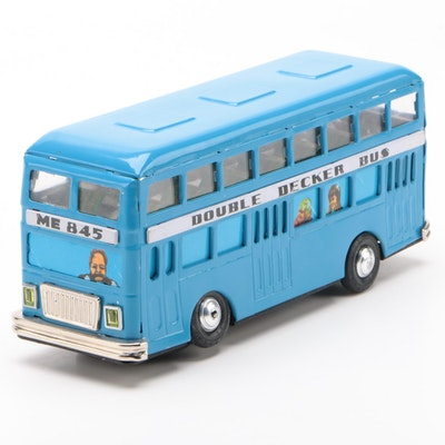 Double Decker Battery Operated Motorized Bus