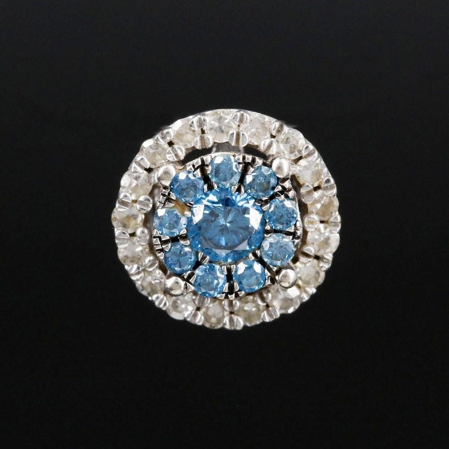10K Gold Diamond Pendant