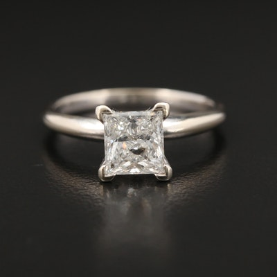 14K Gold 1.00 CT Diamond Solitaire Ring