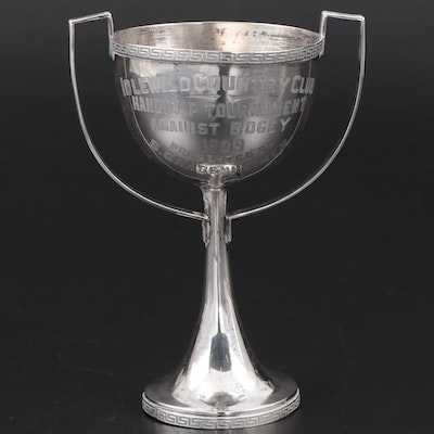 Simons Brothers Sterling Silver Loving Cup Golf Tournament Trophy, 1909
