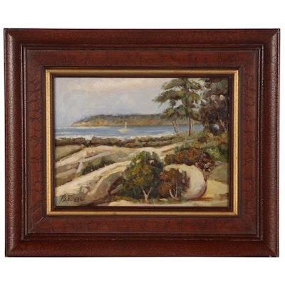 Parker Landscape Oil Painting