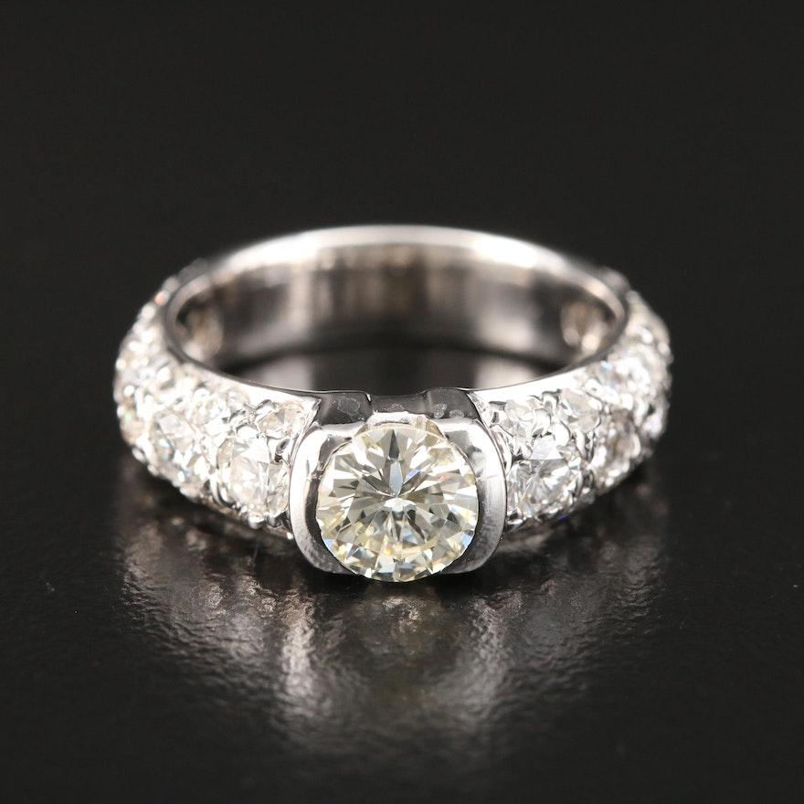 14K Gold 2.02 CTW Diamond Ring
