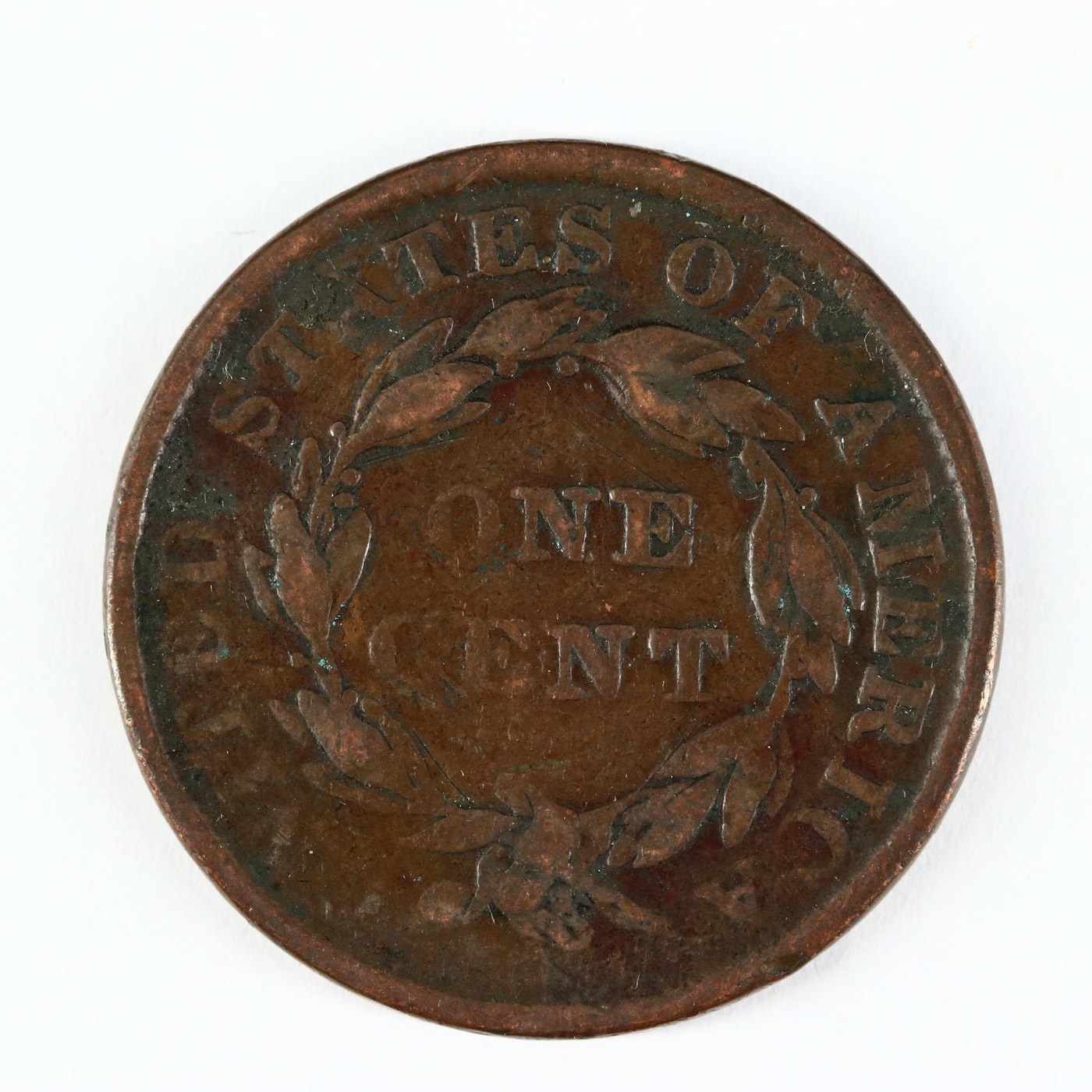 Lot - 1835 US 1c Coronet Head Large Cent W/ Small Stars
