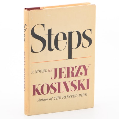 "1968 Signed First Printing ""Steps"" by Jerzy Kosinski"