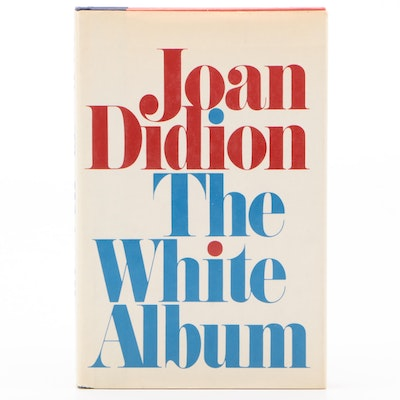 "First Edition, First Printing ""The White Album"" by Joan Didion"
