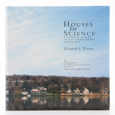 "Signed First Edition ""Houses for Science"" by Elizabeth L. Watson, 1991"