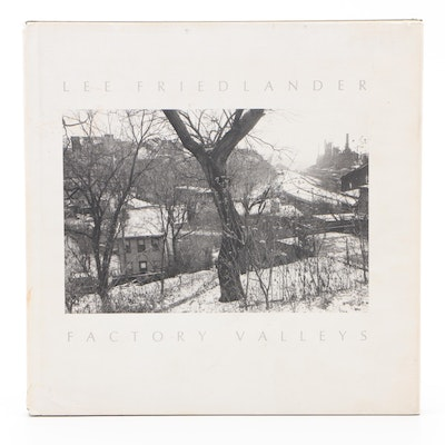 "Signed First Edition ""Factory Valleys: Ohio & Pennsylvania"" by Lee Friedlander"