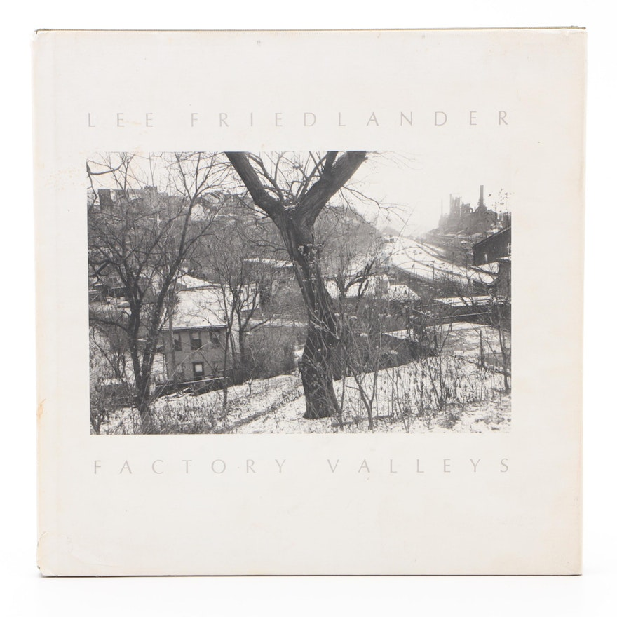 """Signed First Edition """"Factory Valleys: Ohio & Pennsylvania"""" by Lee Friedlander"""