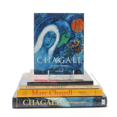Marc Chagall Book Collection Including First Editions