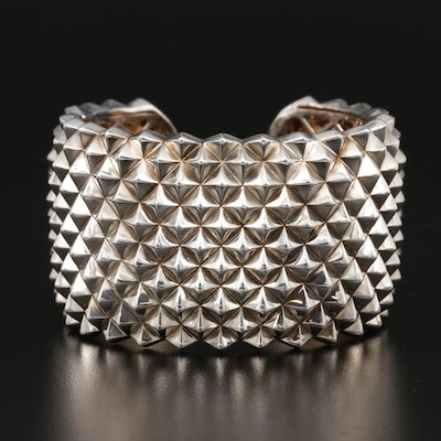 "Stephen Webster ""Superstud"" Sterling Silver Cuff Bracelet"