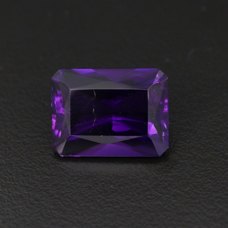 Loose 9.61 CT Amethyst