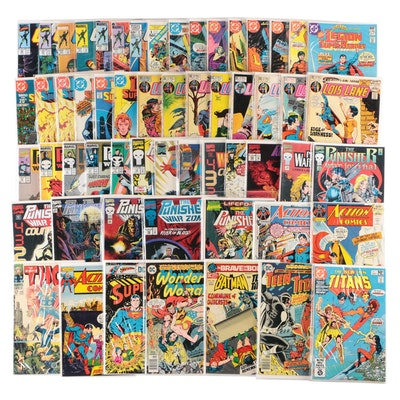 DC and Marvel Comic Books, Includes Superman, G.I. Joe, The Punisher, and More