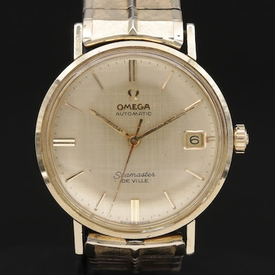 Omega Seamaster DeVille Gold Filled Automatic Wristwatch