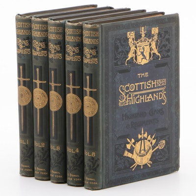 """History of the Scottish Highlands, Clans and Regiments"" Complete Set"