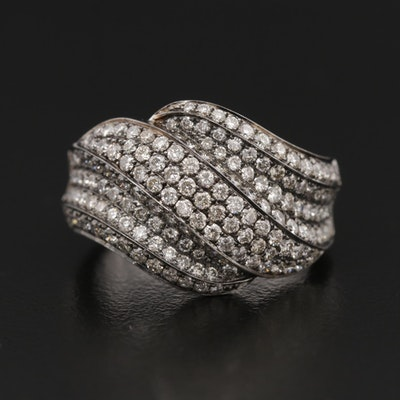 18K Gold 1.55 CTW Diamond Ring