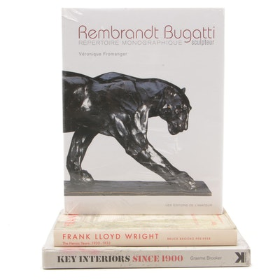 """Art Books Featuring """"Rembrandt Buggati Scuplteur""""  by Fromanger and More"""